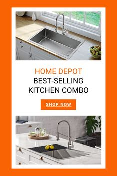 62 homedepot kraus sinks and faucets