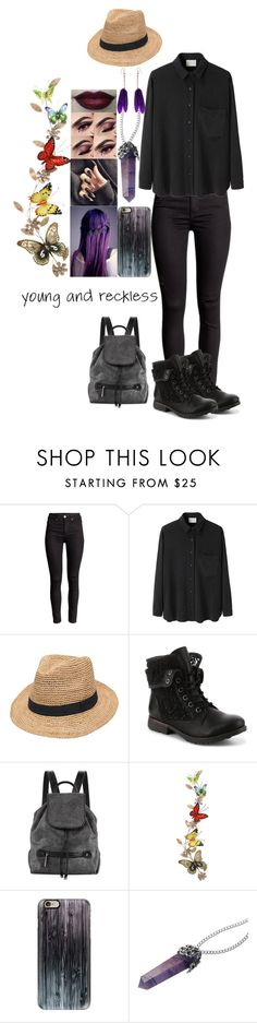 """""""Untitled #98"""" by theamazingonewithspots ❤ liked on Polyvore featuring La Garçonne Moderne, Gottex, Halston Heritage, INDIE HAIR, Benzara, Casetify and OSCAR Bijoux"""