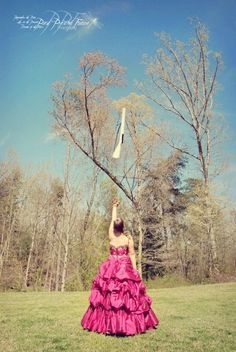 to toss in a dress is absolutely great. #colorguard