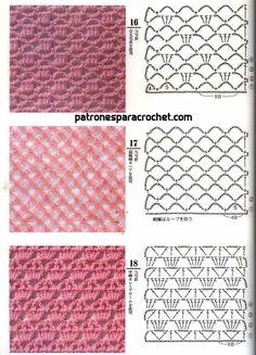 Patrones calados de ganchillo Octopus Crochet Pattern, Boho Crochet Patterns, Love Crochet, Crochet Motif, Crochet Designs, Crochet Doilies, Crochet Yarn, Knitting Stiches, Knitting Charts