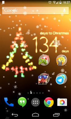 Countdown screenshot Christmas Countdown App, Christmas Live Wallpaper, Live Wallpapers, Christmas Scenes,