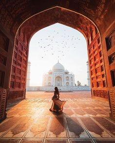 India, taj mahal, and travel image. Travel Images, Travel Pictures, Travel Photos, Taj Mahal, Places To Travel, Travel Destinations, Places To Go, Wonderful Places, Beautiful Places