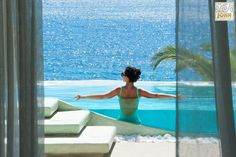 Saint John Mykonos Hotel is one of the best Hotels in Mykonos. Luxury holiday experience in Mykonos. Our 5 star hotel is a member of Mykonos Hotels Association. Mykonos Villas, Mykonos Hotels, Greece Hotels, Mykonos Greece, Santorini, Luxury Villa Rentals, Beautiful Villas, Luxury Holidays