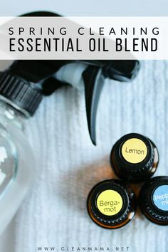 The Perfect Spring Cleaning Essential Oil Blend - Clean Mama