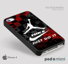 Nike Just Do It Jordan for iPhone 4/4S, iPhone 5/5S, iPhone 5c, iPhone 6, iPhone 6 Plus, iPod 4, iPod 5, Samsung Galaxy S3, Galaxy S4, Galaxy S5, Galaxy S6, Samsung Galaxy Note 3, Galaxy Note 4, Phone Case