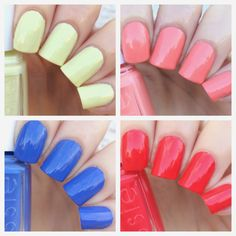 cat eyes & skinny jeans: Essie Summer 2015 Mini Collection Swatches + Review