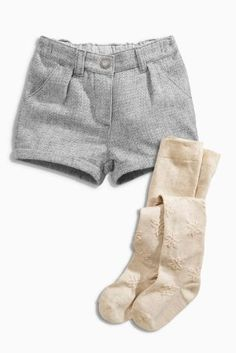 Buy Textured Shorts And Tights Set (3mths-6yrs) from the Next UK online shop