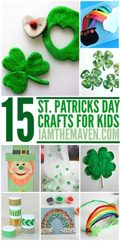 St. Patrick's Day Crafts for kids  {pacifickid.net/}