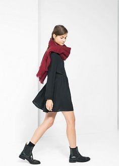 Ruffle skirt dress - Dresses for Women | MANGO