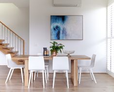united interior styling melissa lunardon bayside home scandi home Kate Hansen, Scandi Home, Interior Design Photography, Interior Stylist, The Hamptons, Dining Table, Dining Room, Home And Family, The Unit