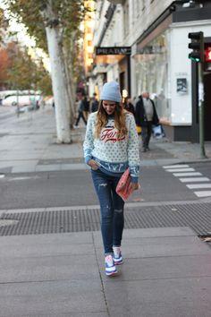 Street style nike