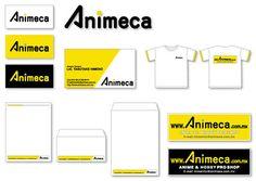 通販ショップ「Animeca」のCI・ブランディングデザイン