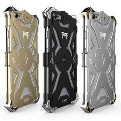 Zimon For iPhone 5 5S 5C SE/ 6 6S/ 6 6S Plus Original Simon Thor Series IRON MAN Metal Aluminum Shell Cover Heavy Phone Cases