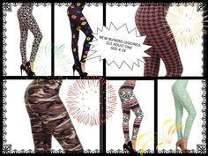 MANY NEW BUSKINS LEGGINGS JUST ADDED FOR SUMMER! $15. ADULT & PLUS SIZES AVAIL. COME CHECK OUT ALL OUR FABULOUS LEGGINGS, JEGGINGS, CAPRIS, MAXI SKIRTS AND MORE. www.mybuskins.com/#leggingsbellaht (referrer: heather townsend) at checkout #buskins #leggings #capris #style #fashion #fitnesswear #gifts #womansfashion #legginglovers