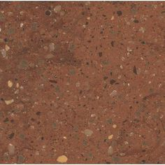 Solid Surface Countertop Sample In Cinnabar C930 15202CI   The