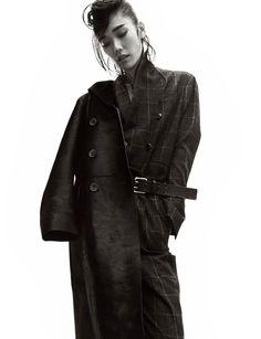 Brooding Tomboy Fashion - The Numéro France 'La Garçonne' Photoshoot Stars Tao Okamoto (GALLERY)