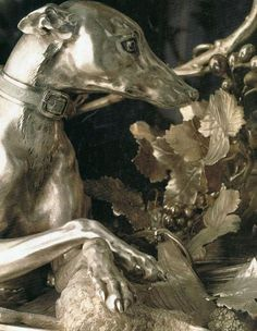 ♔ Antique French silver (detail) .