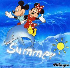 Summer - Mickey and Minnie