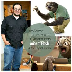 """Exclusive Interview with Raymond Persi, Story Artist & the voice of """"Flash"""" #ZootopiaBluray"""