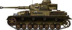 Panzer IV Ausf.F2, Egypt, 1942