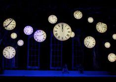 Clocks - James Kronzer Scenic Design If I ever do Alice in Wonderland.