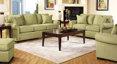 AffordableClassicUpholstered Living Rooms-Rooms To GoFurniture
