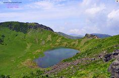 Đảo JeJu, được hình thành dưới một ngọn núi lửa !