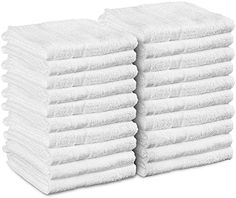 Best Seller Utopia Towels Cotton Salon Towels - Gym Towel - Hand Towel - White) - 16 inches x 27 inches, Not Bleach Proof - Ring-Spun Cotton - Maximum Softness Absorbency, Easy Care white) online - Alltrendytop Home Spa Room, Spa Rooms, White Hand Towels, Hair Salon Interior, Classic Kitchen, Gym Towel, Home Gym Design, Kitchen Dishes, Dish Towels