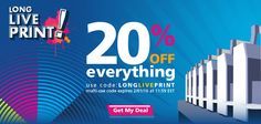 Happy International Printing Week!  Get 20% Off Sitewide with promo code LONGLIVEPRINT What awesomeness will you print?