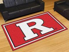 Rutgers University 5x8 Rug