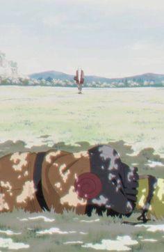 Jiraiya-sensei leaving Naruto