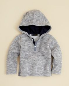 509133e410 Bloomie s Infant Boys  Hooded Henley Top - Sizes 9-24 Months