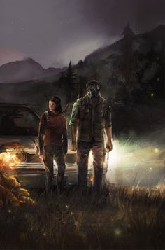 amazing fan art for The Last of Us