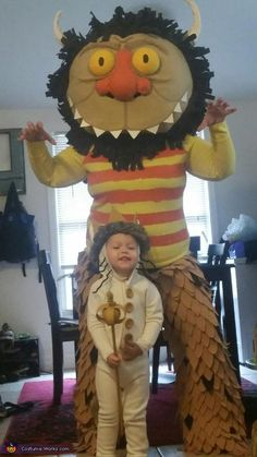 Where the Wild Things Are Max and Carol - Halloween Costume Contest via @costume_works