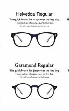 5 | Helvetica And Garamond Glasses Turn Fonts Into Frames | Co.Design | business + design