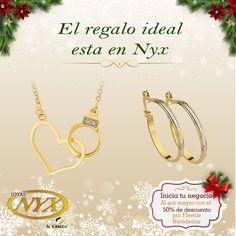 ¿Estas buscando el regalo ideal? En Joyas Nyx lo tenemos   Nuestra tienda:Av. Ejercito 606 Of. 202 Yanahuara.  Consultas y pedidos a: 054 397081 / 968879264  #JoyasNyx #RegalaJoyasNyx #Navidad