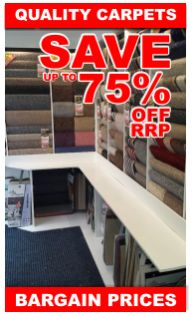 Choose at Home Carpets-You will find many different types of carpets such as synthetic, made from real wool, turfed, weaved and hand made that guarantees to make your home more beautiful and stunning.