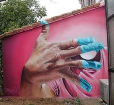 #streetart by artist Pyrate Ratpy.