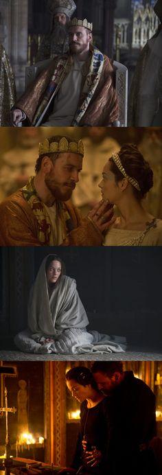 Macbeth Stills: Michael Fassbender & Marion Cotillard