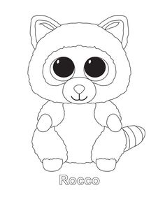Ty Beanie Boos Coloring Pages Kids Stuff Pinterest Beanie