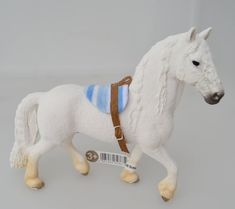 Handmade Bareback Saddle Pad with Bitless Bridle for Schleich Model Horses Chevaux Pferde Caballo Cavallo Schleich Horses Stable, Horse Stables, Breyer Horses, Horse Tack, Horse Accessories, Horse Crafts, Barn Crafts, Equestrian Outfits, Equestrian Style