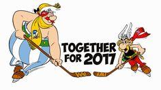 Asterix & Obelix - Mascots of the 2017 IIHF Ice Hockey World Championship