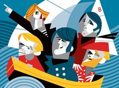 beach boys by Pablo Lobato - classic!!