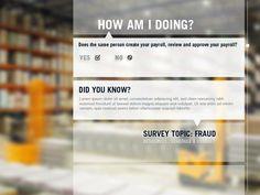 Survey Concept 2b by Caroline Collins