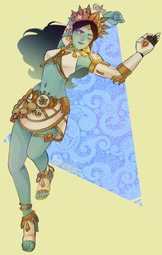 Goddess Symmetra Skin