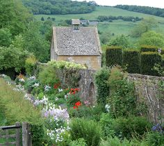 The National Trust Garden at Snowshill Manor, Cotswolds