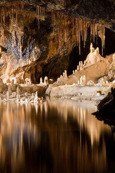 Cave, Saalfeld, Germany, by Andrew Poison