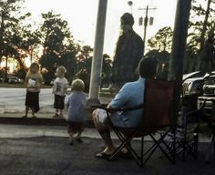 Woman snaps photo of ghostly figure at 4th of July fireworks display in Fort Stewart Georgia