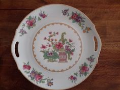 Vintage China Cake Plate by Z.S. & C. BAVARIA by CottageWelcome on Etsy
