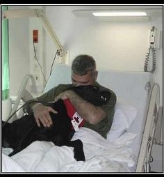 A soldier awakens from a nightmare only to be comforted by the pure unconditional love of his Service Dog. 24 dogs donated thus far! Love, Lucky.